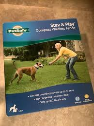 Stay Play Compact Wireless Fence By Petsafe Pif00 12917
