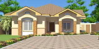 Ghana House Plans Nii Ayitey House Plan House Blueprints House Plans Bungalow House Design