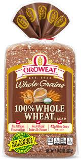 oroweat premium breads 100 whole wheat