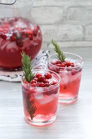 cranberry holiday punch holiday drink