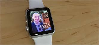 apple watch face from a photo or al