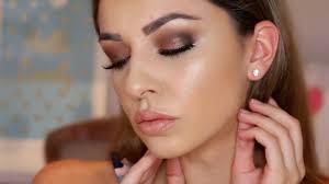 eye makeup tutorial for hooded brown