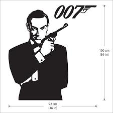 James Bond 007 Version 1 Vinyl Wall Art Decal