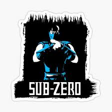 Mortal Kombat Sub Zero Sticker By Ajthesnowman Redbubble