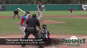 Trevor Rogers Prospect Video 2, LHP, Carlsbad High School Class of 2017 -  YouTube