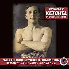 Stanley Ketchel is shot to death by Walter A. Dipley