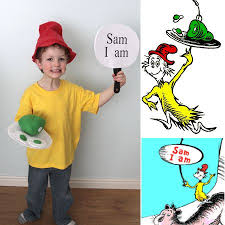 easy diy green eggs and ham costumes