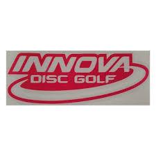 Innova Cut Vinyl Decal 8 X2 Disc Golf Accessories