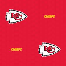 kansas city chiefs logo pattern red