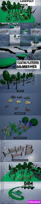 Download Free 3d Templates Characters 3d Building And More Download Cgtrader Lowpoly Polygon Platformer Tree Rock Fence Plant Pack 3d Model Collection Free Download Free 3d Templates Characters 3d Building And More