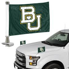 Baylor Bears Ambassador 4 X 6 Car Flag Set Of 2 Eagle Mountain Flag