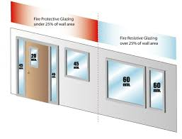 faq fire rated glass in 1 hour exit