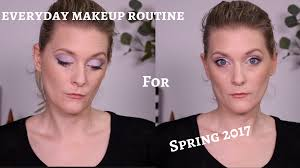 my everyday makeup routine spring