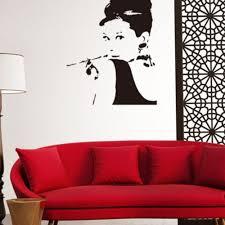 Shop Removable Wall Decal Home Decor Audrey Hepburn Stickers Mural Vinyl Wall Art Wall Vinyl Overstock 17998795