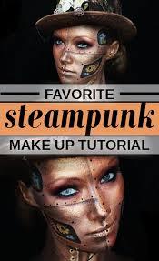 steunk makeup tutorial video