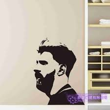 Lionel Messi Football Player Sticker Sports Decor Helmets Kids Room Decoration Posters Vinyl Soccer Car Decal Wall Decals Wall Stickers Aliexpress