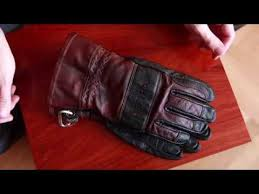 care for leather gloves