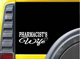 Pharmacist Wife K421 8 Inch Sticker Pharmacy Drug Decal Ebay