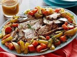 slow cooker pork roast recipe food