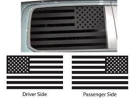 American Flag Side Window Custom Decals Dodge Chrysler Jeep American Flag Side Window Decal Waving American Flag Side Window Decal Distressed American Flag Side Window Decal Thin Blue Line American Flag Side