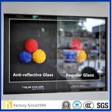 ultra white non glare glass