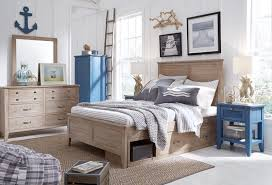 Legacy Classic Kids Beach House 4pc Panel Bedroom Set In Driftwood