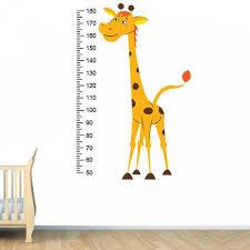 Chart Height Growth Wall Art Sticker Nursery Kid Etsy In 2020 Sticker Wall Art Vinyl Wall Decals Sticker Art