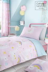 llamacorn easy care duvet cover and