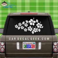 Roses Flower Bunch Vinyl Car Truck Decal Sticker Graphic
