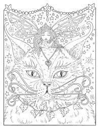 Fantasy Thema Kleurplaten Boek Feeen Draken Pixies Waterspuwers