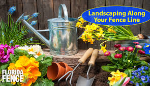 Ways To Landscape Along Your New Fence Line
