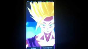 android live wallpaper gohan ssj2
