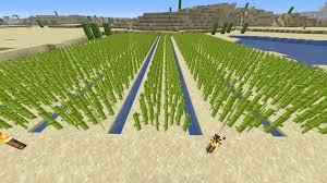 You Can Use Waterlogged Stairs For Farms So That You The Items Don T Fall In The Water Minecraft Farm Stairs Minecraft