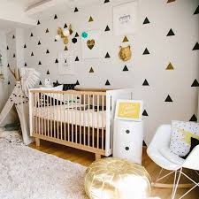 Little Triangles Baby Girl Room Decorative Stickers Children Bedroom Wall Sticker For Kids Room Children Wall Decal Stickers Wall Stickers Aliexpress