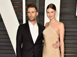 Adam Levine, Behati Prinsloo share first photo of daughter Gio ...