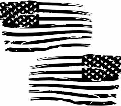 Distressed American Flag Premium Vinyl Decal American Flag Decal Vinyls American Flag Decal American Flag Sticker