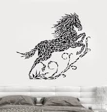 Abstract Vinyl Wall Decal Bedroom Geometric Running Horse Pvc Wall Sticker Home Decoration Living Animal Art Decor Stickers Vinyl Wall Decor Vinyl Wall Decorations From Joystickers 14 2 Dhgate Com