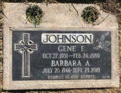 Gene Edwin Johnson (1931-1989) - Find A Grave Memorial