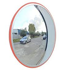 road convex mirror concave and convex