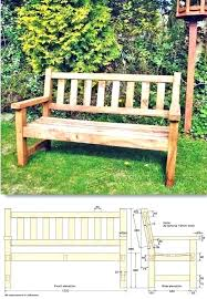 garden bench and projects porch