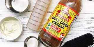 diy apply cider vinegar hair mask