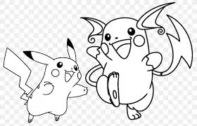 Pikachu Raichu Coloring Book Pokemon Go Pichu Png 1145x740px