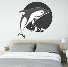 Dolphin Wall Decor Wall Decal Vinyl Sticker For Home Interior Decoration Ebay