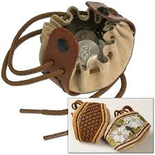 drawstring coin pouch kit tandy leather