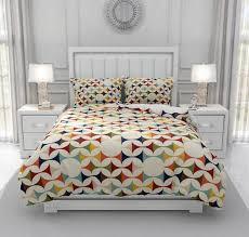 mid century modern comforter or duvet