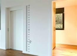 Vinyl Growth Chart Decals Chilangomadrid Com