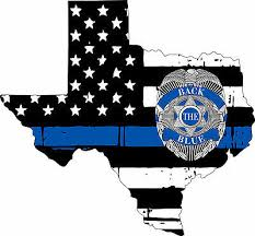 Thin Blue Line State Of Texas Back The Blue Window Decal Various Sizes Ebay