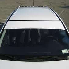 Amazon Com Southern Car Parts Windshield Banner Cast Pvc Film Sun Strip Visor Premium Vinyl Decal 60 X 12 Flat Black Automotive