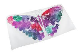 Dcwv Home Watercolor Butterfly Die Cut Peel Stick Vinyl Wall Decal Walmart Com