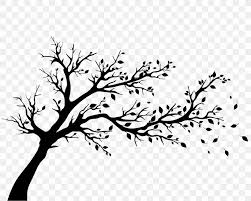 Tree Silhouette Wall Decal Autumn Png 1924x1540px Tree Art Autumn Black Black And White Download Free